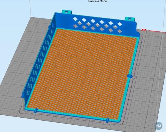 Ultimaker 2 Breathable Electronics Enclosure