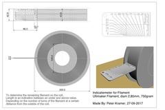 Indicatiemeter Filament