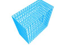 SLS cage: 100x100x50mm