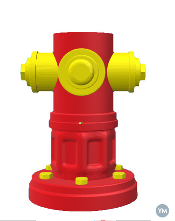 Fire Hydrant Pencil Case