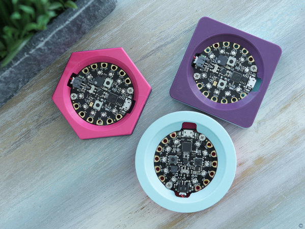 Circuit Playground Case – Shapes Edition