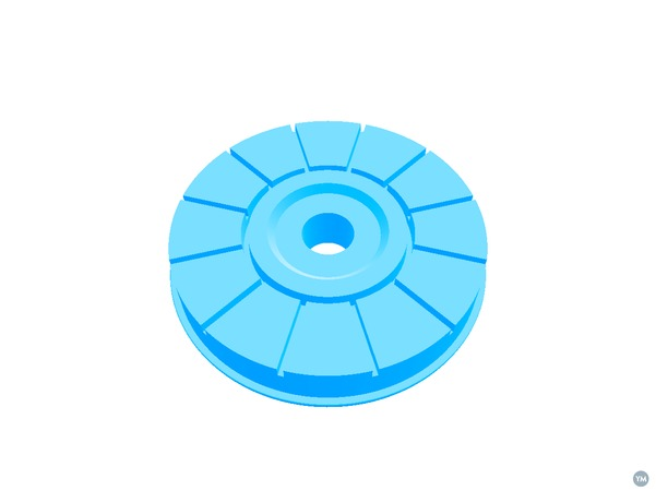 Numark PT01 Platter Reinforcement