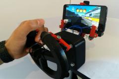 Smartfone Gaming Wheel Gadgets 3 D Printed
