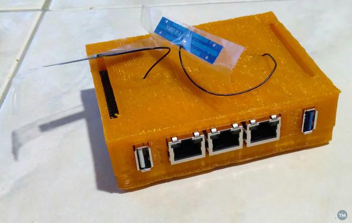 EspressoBin board case