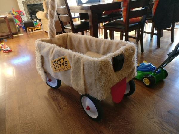 Mutt Cutts Kids Wagon Parts