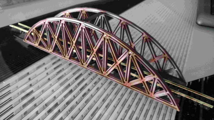 Bridge train n scale