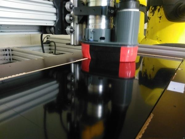 Brush for dustshoe in flexible filament
