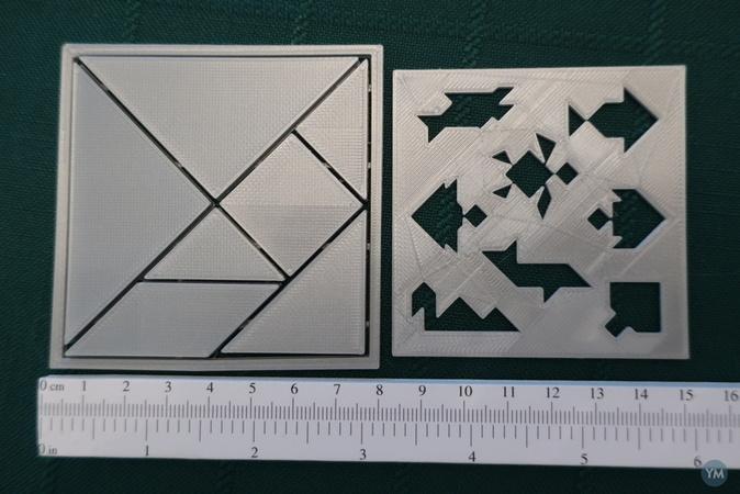 tangram water creatures parametric