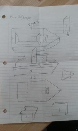 Boat Puzzle Box
