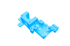 Rendering of Extruder Body