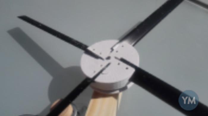 Windmill blade holder