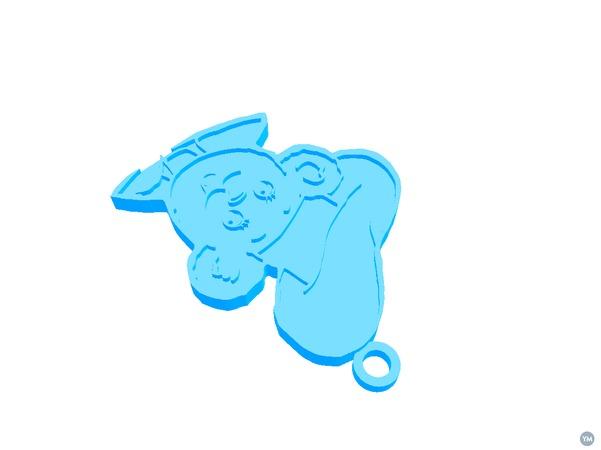 Bimbo logo Keychain