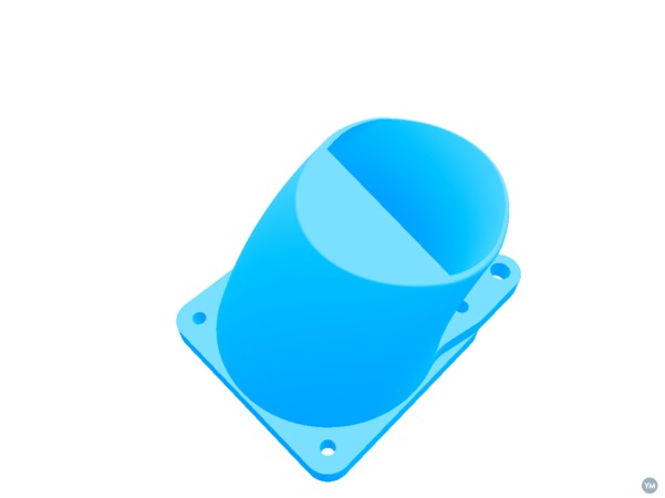 Ultimaker Fan Mount for E3D v6 Nozzle