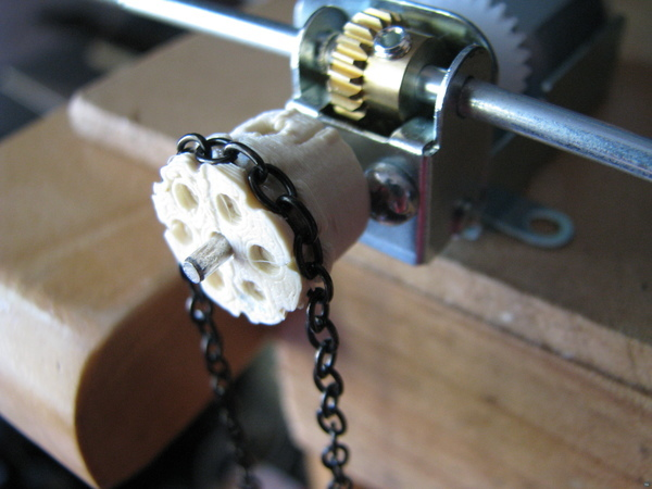 Parametric Chain Link Drive Pulley