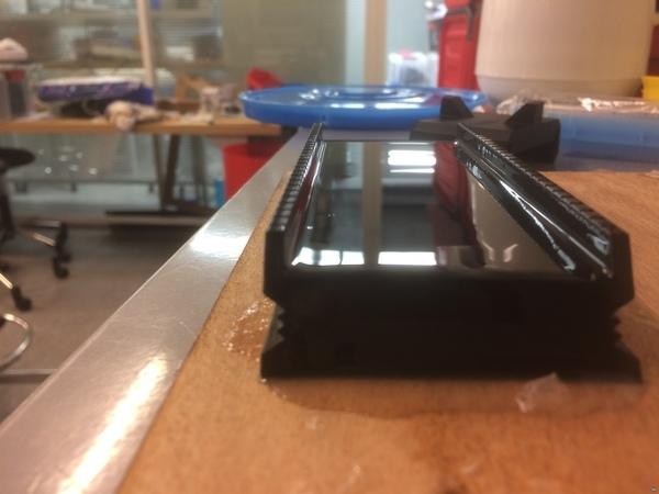 film applicator for silicone sensor molding