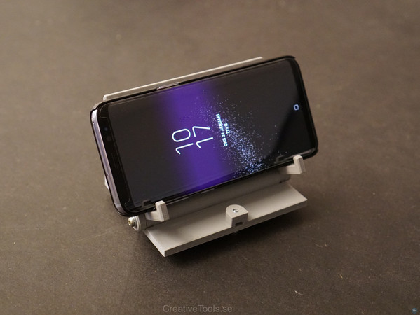 Smartphone Desktop Stand (adjustable angle)
