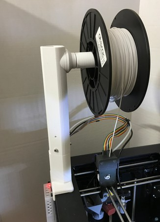 Top Spool Holder for Wanhao D6 / Monoprice Ultimate