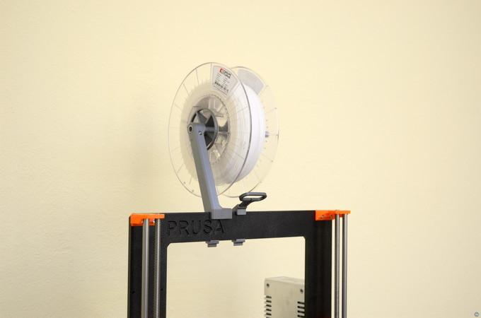 Versatile Spool Holder for Prusa MK2/3