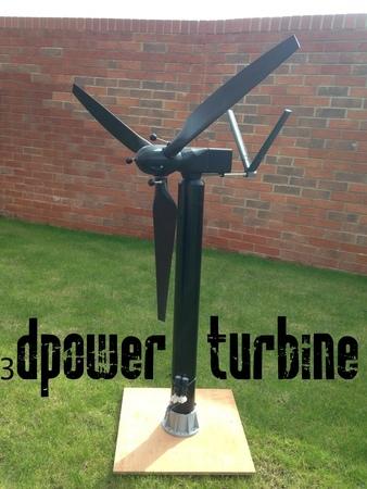 MKIII 50 Watt 3d printable Wind Turbine
