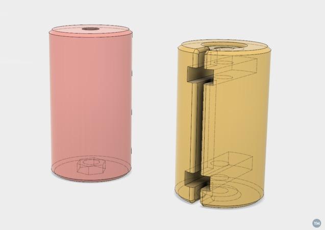 Dummy C size batteries