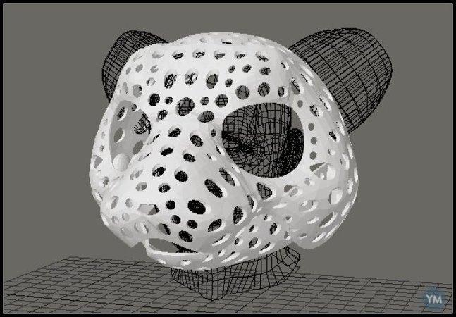 Fursuit- or puppet-head base - version 49 - otter