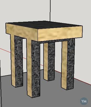 Mesa sencilla
