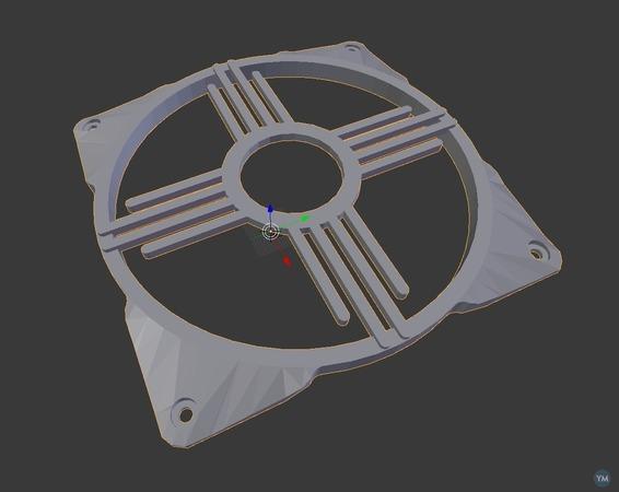 120mm Zia fan grill
