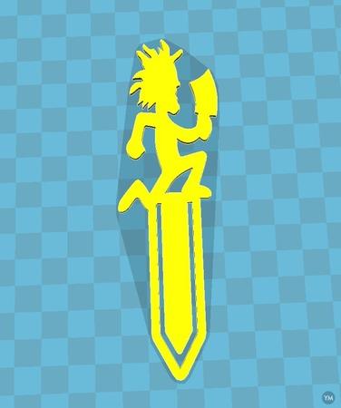 ICP hatchetman bookmark