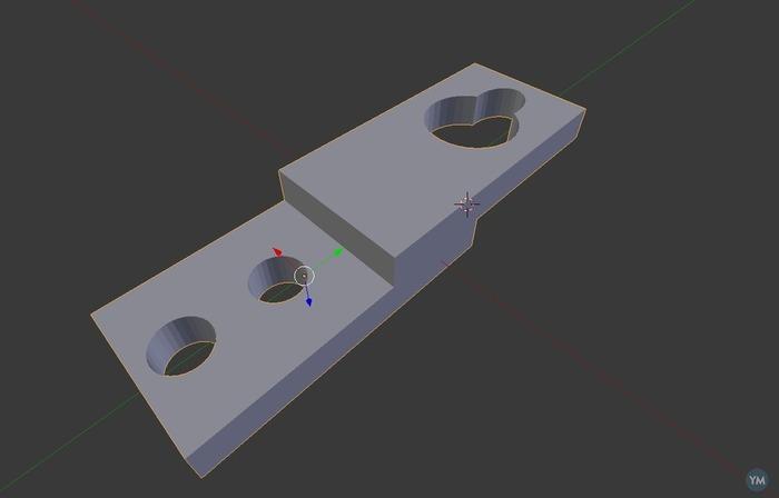Keyhole Mounting Bracket