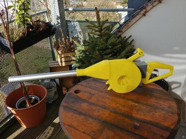 BBQ Fan Extension for Gearbox 256 / Grillgebläse Erweiterung für Getriebe 256
