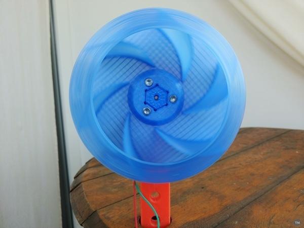 Radial Fan Impeller / Radialventilator Laufrad - 125RL-6X