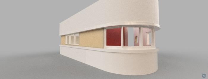 Bauhaus interior