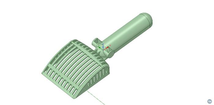 Cat's Litter shovel