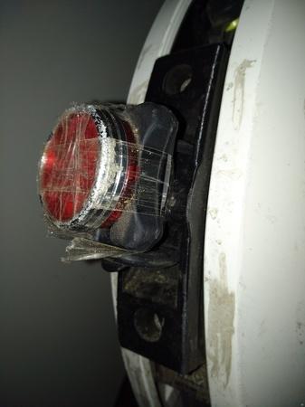 NINEBOT ONE E+ LIGHT BRACKET