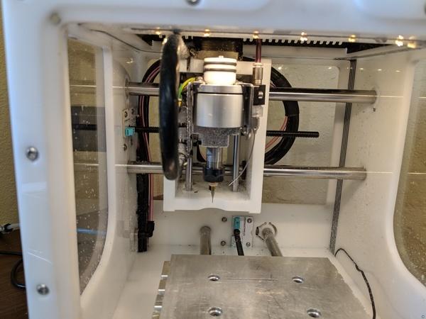 Air nozzle for Othermill Pro / Bantam Desktop Milling Machine