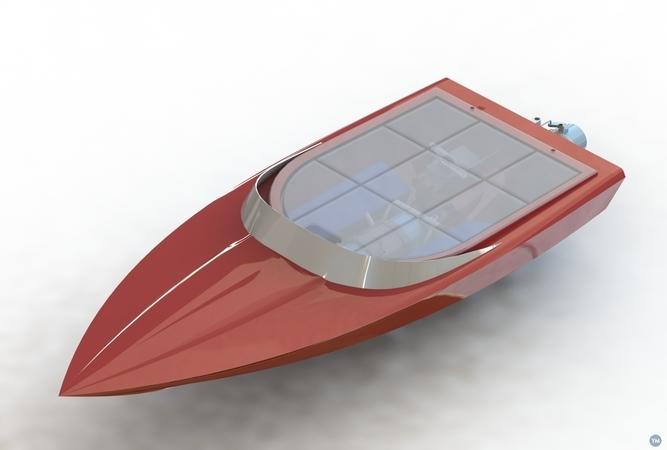 3D printed Jet boat V2