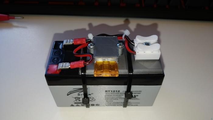 12V portable power supply.