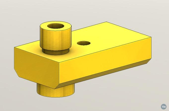 Ultimaker 2 Olsson Block CAD model