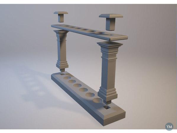 Test Tube Stand / Support de tube à essai
