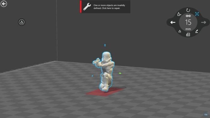 Stormtrooper kneeling