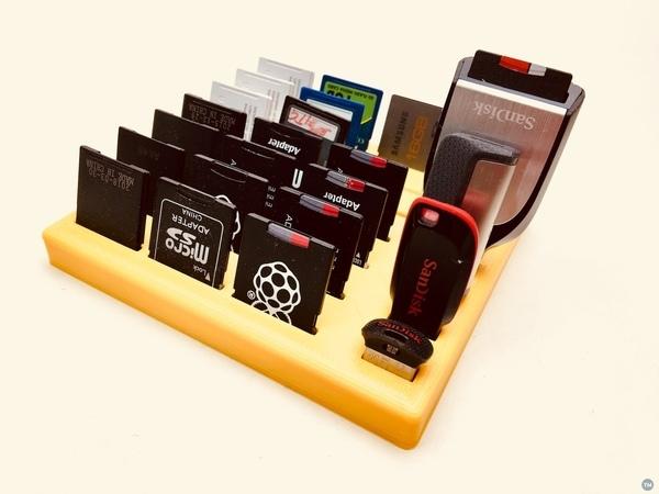 SD card & USB pendrive holder