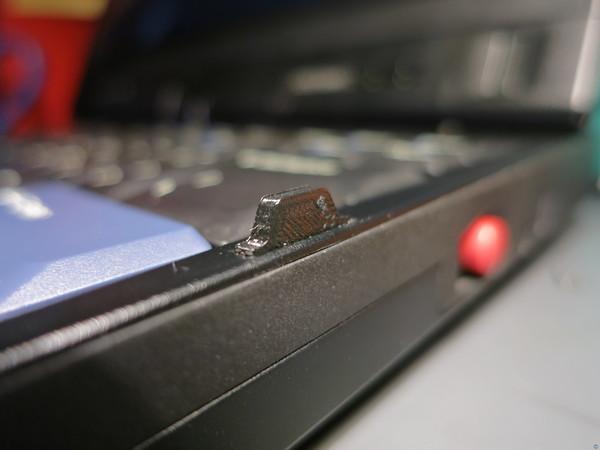 Thinkpad X220t X230t keyboard bezel tabs