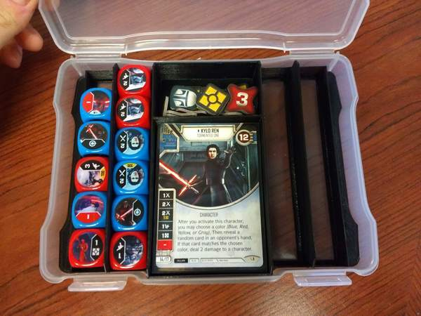 5x7 Star Wars Destiny Case Inserts