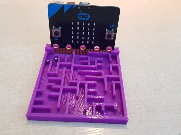 Maze for the microbit
