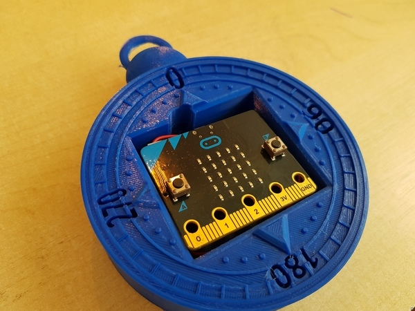 Compass with the microbit