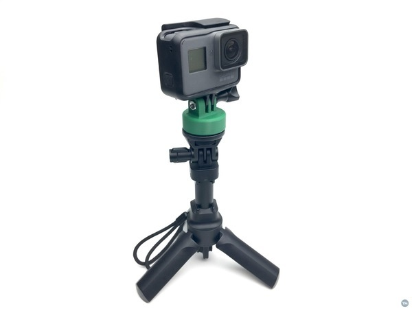 GoPro tripod mount - threaded insert version