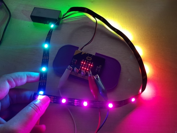 Holder for the microbit