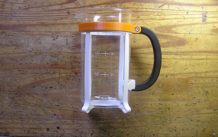 Press Coffee Machine Handle Repair