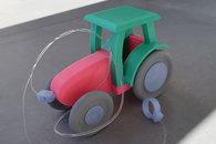 Carousel thumb tractor