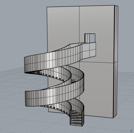 Toy Spiral Staircase